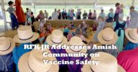 RFK JR Addresses Amish Community on Vaccine Safety